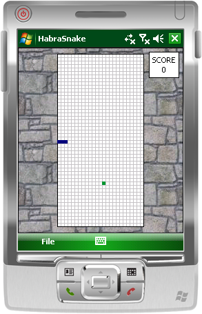 HabraSnake for Windows Mobile