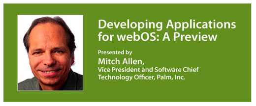 Palm webOS WebCast