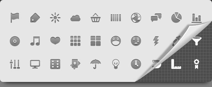 30 free icons for Android developers